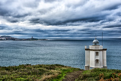 Faro Mera y Torre de Hércules, La Coruña (Jorge Rodriguez) Tags: faro mar galicia coruña lighthouse españa spain