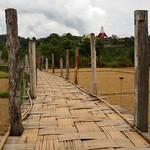 Su Tong Pae bamboo bridge (Northern Thailand 2018) thumbnail