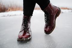 . (PeeterTomson) Tags: winter snow walk sea nature xt1 7artisans 25mm f18 fujifilm white dr martens doc boots