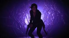 Shadow of the Tomb Raider (Matze H.) Tags: shadow tomb raider lara croft nightmare purple plants light neon pistol weapon wallpaper screenshot 4k uhd hdr 2160p playstation 4 pro photo mode