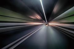 Follow Me ... (lfeng1014) Tags: followmewewillrunthroughthedarknesstogether lightsinthetunnel kingswaytunnel liverpool undertherivermersey england uk betweenliverpoolandwallasey 24kmtunnel canon5dmarkiii ef1635mmf28liiusm longexposure 2seconds travel lifeng lights lines tunnel