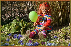 💗 Sanrike ... einen schönen guten Tag 💗 (Kindergartenkinder 2018) Tags: gruga park essen blumen kindergartenkinder sanrike