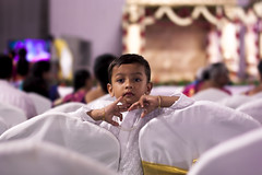 (bhanuprakash.in) Tags: little kid young boy wedding attire dressed up portrait portraiture canon 50mm photography