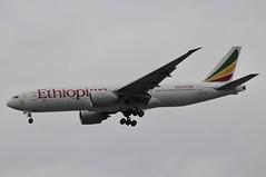 ET-AQL (LIAM J McMANUS - Manchester Airport Photostream) Tags: etaql ethiopianairlines ethiopian et eth boeing b777 b772 772 b77l 77l boeing777 boeing777200 boeing777200lr egcc manchester man