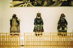 Japanese armors (しまむー) Tags: canon af35m autoboy 38mm f28 fuji fujicolor 100 oga kakunodate 男鹿 角館
