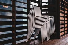 stacked (FButzi) Tags: genova genoa liguria italy italia chairs lines geometry stacked