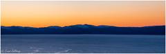 Fosen mountain range, Norway (Trond Sollihaug) Tags: trondelag trøndelag norway trondheimsfjord sunset seaside mountain view panorama