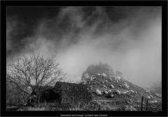abandoned wine bodega, La Palma, Islas Canarias (Dierk Topp) Tags: a7r bw ilce7r ir sonya7rir abandoned architecture canaryislands infrared infrarot islascanarias lapalma monochrom sw sony clouds