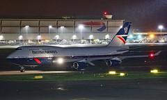 G-BNLY - Boeing 747-436 - LHR (Seán Noel O'Connell) Tags: britishairways ba speedbird gbnly boeing 747436 b747 b744 747 landor heathrowairport heathrow lhr egll kwi okbk ba157 baw157 retro aviation avgeek aviationphotography planespotting