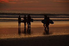 Puesta del sol en Costa Rica 2 (Luiz Augusto Dantas) Tags: nature natureza puestadelsol sunset beach playa pôrdosol mar céu praia oceano água areia onda surf pranchadesurf surfboard