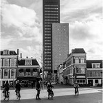 Tower blocks intruding on a townscape thumbnail