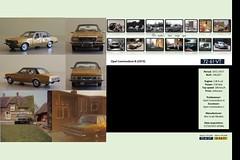 #186 - Opel Commodore B (1973) - 72-61-VT (aterwal) Tags: modelcar 143 opel commodore commodoreb 1973