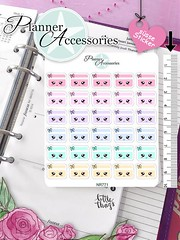 Kawaii Credit Card Stickers Bill Stickers Payment Stickers Planner Stickers Erin Condren Functional Stickers Decorative Stickers NR771 by EmelysPlannerShop (emelysplannershop.com) Tags: planner stickers icon accessories functional daily agenda organizer live emelysplannershop