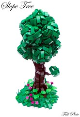 Slope Tree (Emil Lidé) Tags: lego moc slope tree nature tutorial