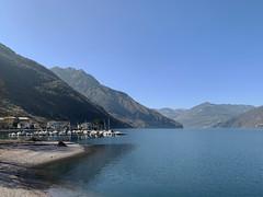 (Paolo Cozzarizza) Tags: italia lombardia brescia pisogne panorama acqua riflesso molo imbarcazione