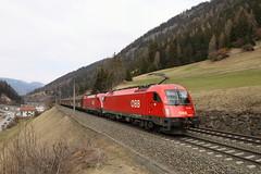 ÖBB 1216 009-1 und 1016 009-3 Güterzug, Wolf am Brenner (TaurusES64U4) Tags: öbb taurus 1216 1016