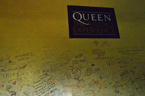 Queen Studio Wall
