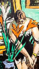 Woman at Her Toilette with Red and White Lillies (Thomas Hawk) Tags: america california maxbeckmann museum sfmoma sanfrancisco sanfranciscomuseumofmodernart usa unitedstates unitedstatesofamerica womanathertoilettewithredandwhitelillies artmuseum painting fav10