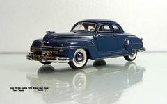 1942 DeSoto Custom Fifth Avenue Club Coupe (JCarnutz) Tags: 143scale diecast resin victorymodels 1942 desoto custom fifthavenue