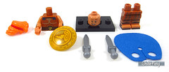 Parts assortment (WhiteFang (Eurobricks)) Tags: lego minifigures cmfs collectable walt disney mickey characters licensed design personality animated animation movies blockbuster cartoon fiction story fairytale series magic magical theme park medieval stories soundtrack vault franchise review ancient god mythical town city costume space