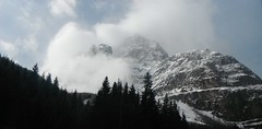 Canadian Rocky Mountains HSS (Mr. Happy Face - Peace :)) Tags: sky sun cloud mountains albertabound canada yoho nationalpark cans2s nature trees forest spring art2019 snow lakelouise
