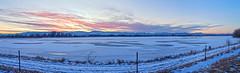 Terry Lake Sunset 20190208_173052 (JKIESECKER) Tags: terrylake colorado sunset blue landscapes lakes lake mountains winter snow cold