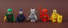 Heroes wear capes (-Wat-) Tags: comics dc marvel hero lego