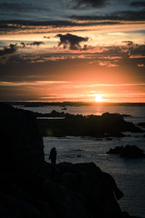 Primel. (Alex-Mca-29) Tags: primel bretagne brittany france mer sea soleil sun ciel sky blue bleu orange couleur nikon