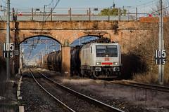 E189 822 DB CARGO ITALIA - BIVIO MORTELLINI (PI) (Giovanni Grasso 71) Tags: e189 822 db cargo italia bivio mortellini pi nikon d610 giovanni grasso venezia marghera scarlino