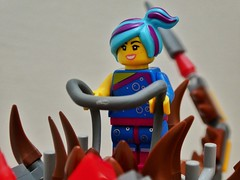 Flashback Lucy (sander_sloots) Tags: lego flashback lucy wyldstyle ultrakatty brick girl minifig minifiguur toy speelgoed movie legomovie 2 ultra kitty