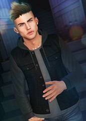 LOTD 423 (Brendo Schneuta) Tags: doux etham wrong lelutka clefdepeau bento hair jacket poses pose backdrop ninety access tmd event events new releases men male boy moda fashion style estilo keepcalm bloggersl blog blogger secondlifeblog secondlife second sl game avatar virtual brendo
