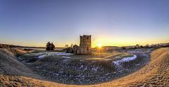 Dawn at Knowlton in Dorset