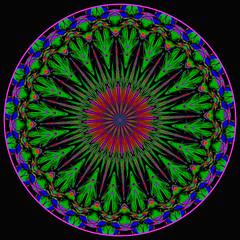 Afternoons with Zizi (LotusMoon Photography) Tags: kaleidoscope manipulated mandala digitalart digital circle square bright abstract postprocessed processed filterforge photomanipulation photoart annasheradon lotusmoonphotography