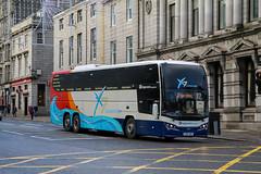54235 YX64WBY Stagecoach Strathtay (busmanscotland) Tags: 54235 yx64wby stagecoach strathtay yx64 wby volvo b11rt plaxton elite interdeck fife east scotland