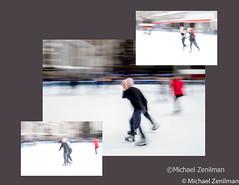 Ice Skating, Bryant Park, Winter 2019 (Michael Zenilman Photographs) Tags: photography nyc winter iceskating bryantpark legacylens nikon