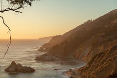 Near McWay Falls (jasonhawkins) Tags: bigsur california mcwayfalls cabrillohighway sunset