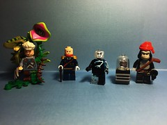 Donkey Patrol (Lord Allo) Tags: lego dc doom patrol brotherhood evil dada animal vegetable mineral man mister nobody general immortus the brain mallah