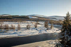 River Dee (Teuchter Prof) Tags: riverdee deeside cairngormsnationalpark snow winter winterlandscape snowytrees rivers scottishhighlands aberdeenshire ascotland