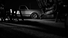 Sin City b&w 2 (heresthething...) Tags: chevy chevrolet truck pickup c10 v8 350ci block small classic city sin bw auto lens prime 20mm f17 micro43rds lumix g7