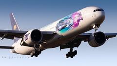 "Saudi Arabian Airlines ""2018 Saudia Ad Diriyah E-Prix"" | HZ-AK43 | Boeing 777-368(ER) | London Heathrow Airport (LHR/EGLL) (M.W. AviaPix) Tags: saudi arabian airlines saudia 2018 ad diriyah eprix hzak43 special livery boeing 777368 777300 777 london heathrow airport lhr egll aviation"