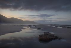 """ CALM "" (Wiffsmiff23) Tags: heritagecoastlinesouthwales southwales traethmawr reflection reflections beach traeth"