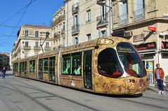 Montpellier, Boulevard de l'Observatoire 12.02.2019 (The STB) Tags: montpellier tram tramway streetcar strassenbahn strasenbahn publictransport citytransport öpnv transportpublic france french
