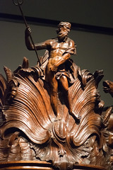 Carving of Neptune (quinet) Tags: 2017 amsterdam antik netherlands rijksmuseum schnitzerei ancien antique carving museum musée sculpture