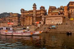 Varanasi, India (Ninara) Tags: varanasi india uttarpradesh ghat ganges ganga gangaaarti sadhu nagasadhu sunrise morning bathing holycity munshighat kashi benares darbhangapalace
