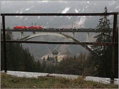 rainy Falkensteinbrücke (Stephan Kainberger) Tags: tauernbahn falkensteinbrücke eisenbahn öbb taurus