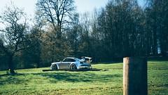 Porsche 911 964 Turbo (Promodet / Rauh Welt Begriff), at Caffeine & Machine, Stratford-upon-Avon. (Smashatom) Tags: england sun lumix leica panasonic mu43 mirrorless thirds four micro microfourthirds em5 omd cult cultofmachine olympus warwickshire caffeineandmachine machine caffeine wheelarch wheels spoiler gold silver driftworks drift countryside green racing petrol petrolhead auto autosport autosports sports car super supercar classic porsche911 stratforduponavon avon upon stratford unitedkingdom japan germany german promodet begriff welt rauh rauhweltbegriff rwb rev turbo 964 911 porsche