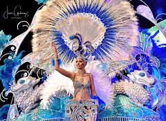 Selene Goddess of the Night (gjaviergutierrezb) Tags: selene goddess night carnival costume fantasy blue female beautiful