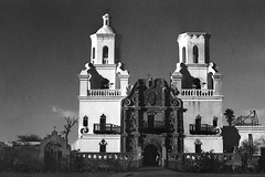 Mission San Xavier del Bac (Ed Cheremet) Tags: 35mm 50mm architecture arizona blackwhite canoneos catholic church genre horse horsejawbone ilford ilfordpanfplus50iso ilordpanfplus ilordpanfplusr landscape missionsanxavierdelbac nature saltriver sonorandesert spanishmission subject treatment bone bones canon canoneos3 edcheremet edszeremetgmailcom film horsebones horses httpedcheremetartistwebsitescom jawbone me tontonationalforest wildhorses
