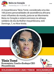 2019-04-09 11.27.28 (mbusinessmozmagazine) Tags: tania tome succenergy tânia tomé leader serial entrepreneur tv personlaity star coach mentor strategical partner international advisor brand ambassador barack obama president award winner lider empreendedora economista jovem africana successo workshop speaker motivational palestrante tedx ted