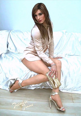 Silky Gold (jessicajane9) Tags: tg crossdresser tgurl cd trans xdress tv m2f travesti feminization tranny crossdress transgender feminised tgirl crossdressing transvestite satin